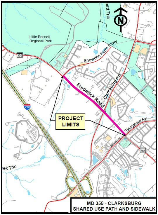 MD-355-Frederick-Rd-Clarksburg-Shared-Use-Bike-Path-Montgomery-County-min
