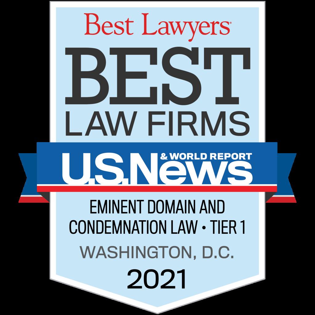 Best Law Firms 2021 - U.S. News & World Report